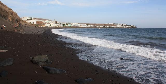 Nude beach Playa Quemada (Lanzarote)