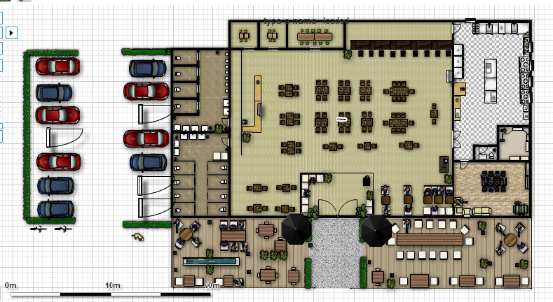 Sushi Patio: Floor Plan