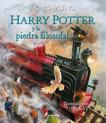 LIBRO - Harry Potter y La Piedra Filosofal  J.K. Rowling - Ilustraciones de Jim Kay (Salamandra - 2015)  LITERATURA JUVENIL | ILUSTRADO  Comprar en Amazon España