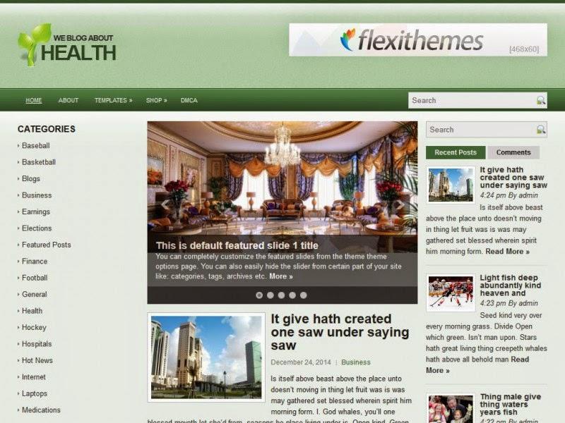 HealthCase - Free Wordpress Theme