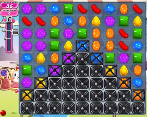 Nivel 86 de Candy Crush Saga