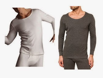 Buy Jockey Thermal Set Of Off Full Sleeve Vest & Bottom at Rs. 599
