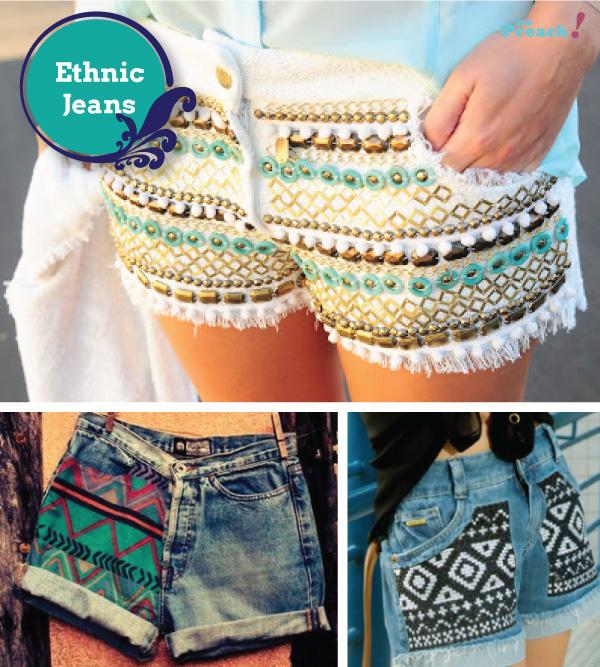etnico - shorts jeans diy - do it yourself - faça você mesmo