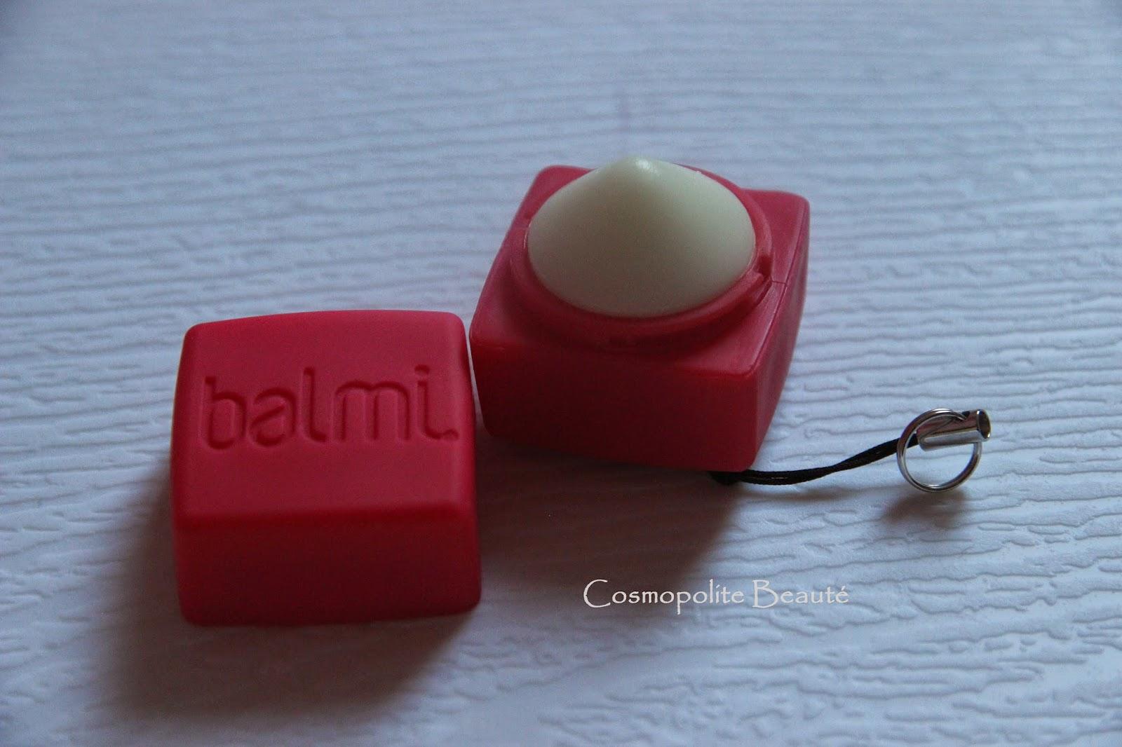 balmi, baume à lèvres, soin des lèvres, lips care, cosmopolite beauté, cosmopolitan beauty