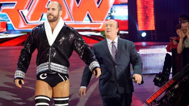 Cesaro WWE Paul Heyman guy 2014 King of Swing Antonio Brock Lesnar feud