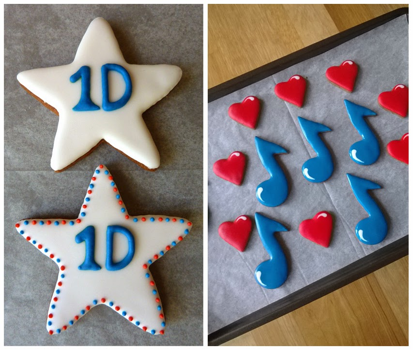 1D Stars Hearts Music Notes