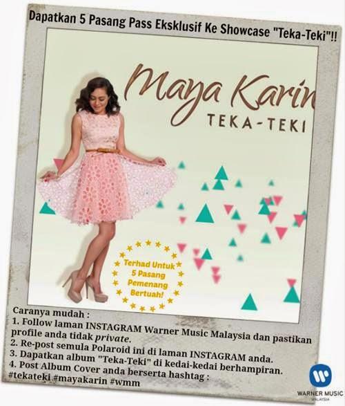 Maya Karin - Teka Teki