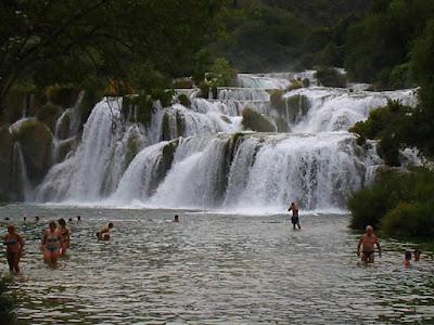 parcul krka din croatia