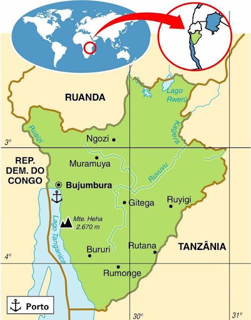 Publicado por: Manders Mende Categorias: Burundi , Geografia , Países