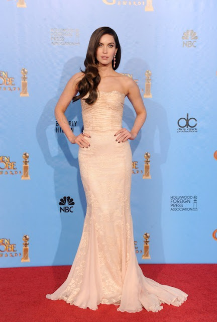 Megan Fox at Golden Globe Awards