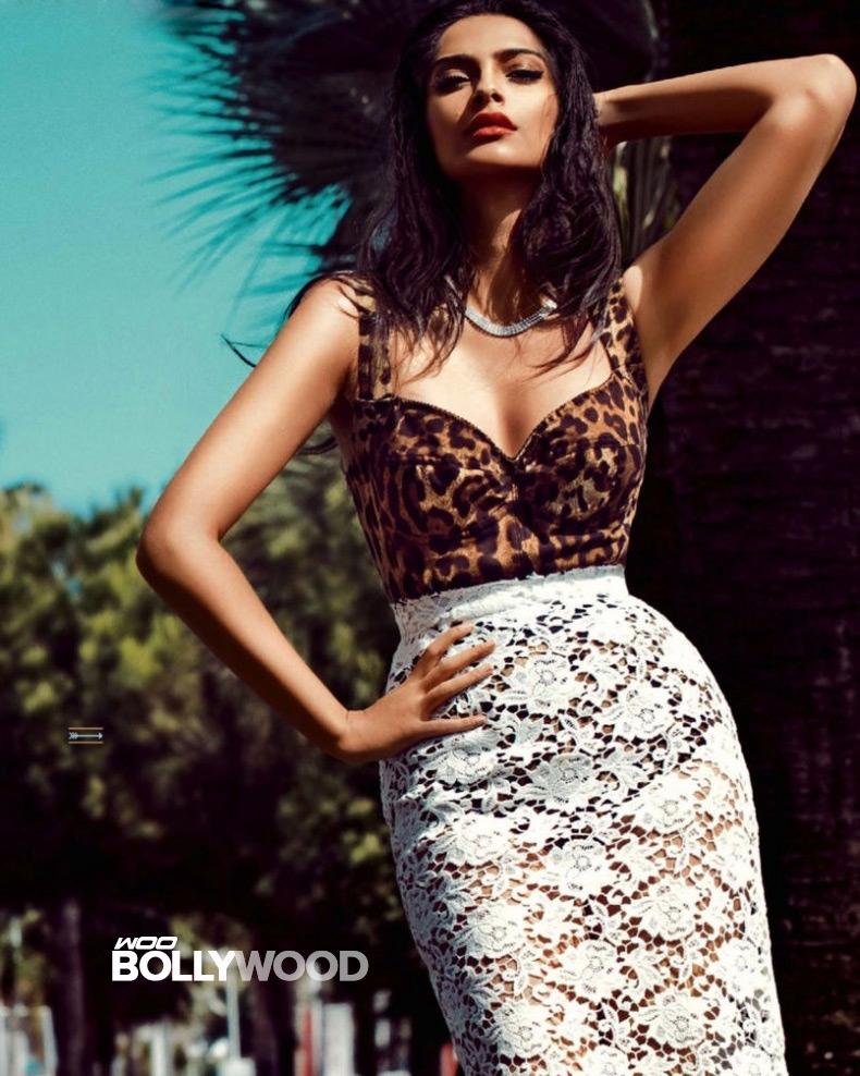 Babe Next Sonam Kapoor Hot On Gq India Magazine August 2013