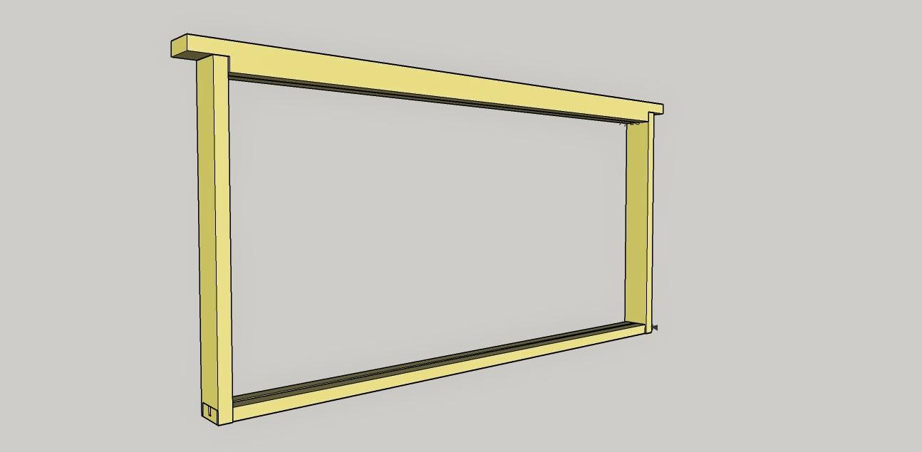 Honeydrunk Apiares: Build Your Own: Shoulderless Frame