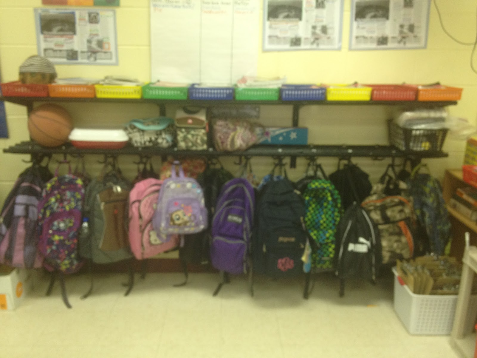 Student Backpack Storage