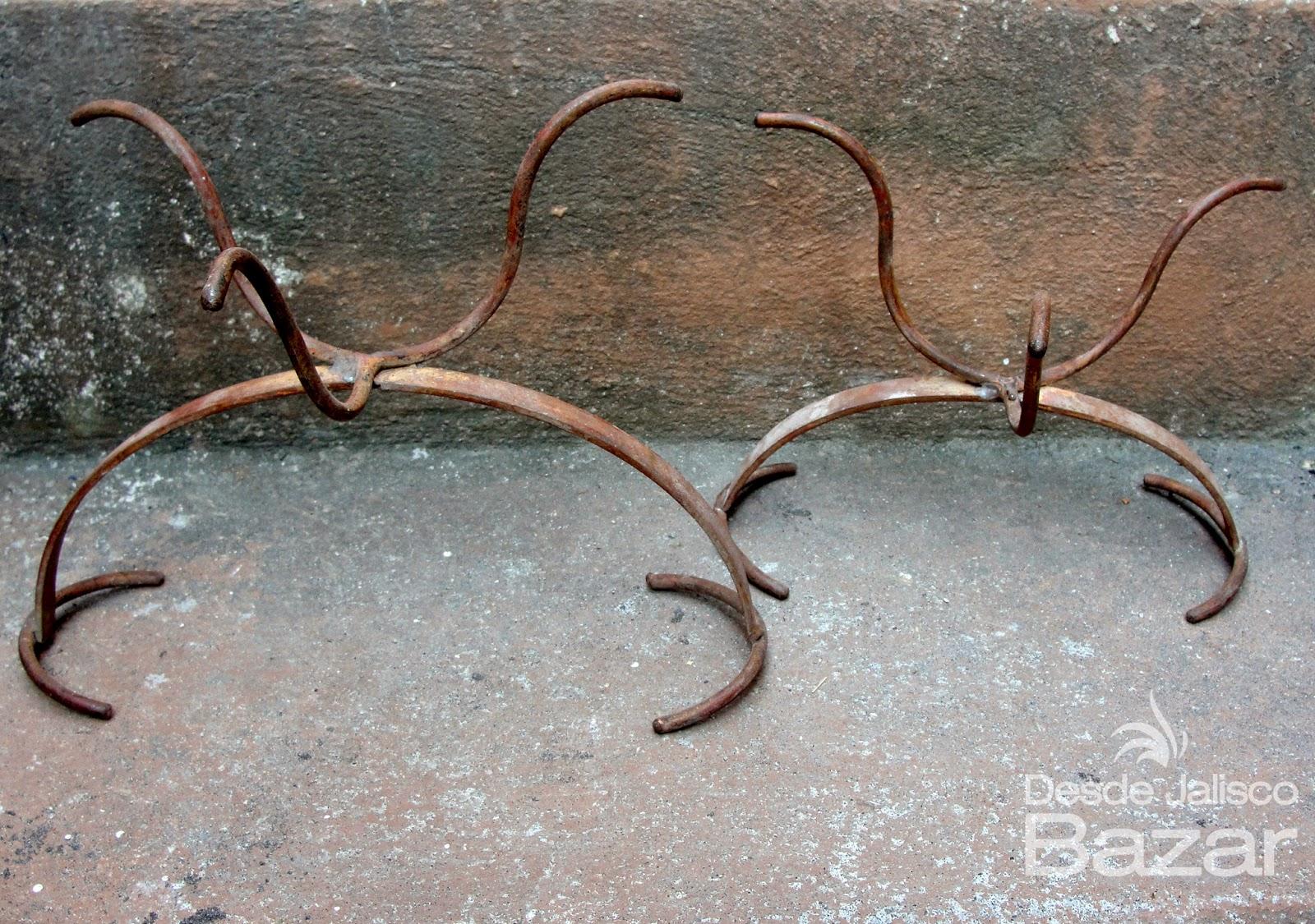Desde jalisco bazar maceteros antiguos - Maceteros de hierro ...