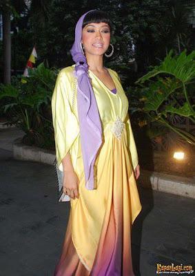 baju muslimah terbaru julia perez