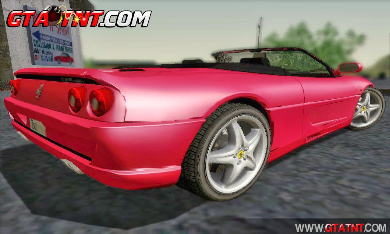 Ferrari F355 Spyder para GTA San Andreas