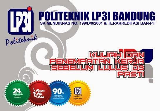Pendaftaran Mahasiswa Baru Politeknik LP3I Bandung