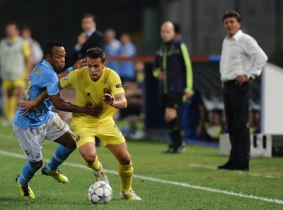 Napoli Villareal 2-0 highlights sky