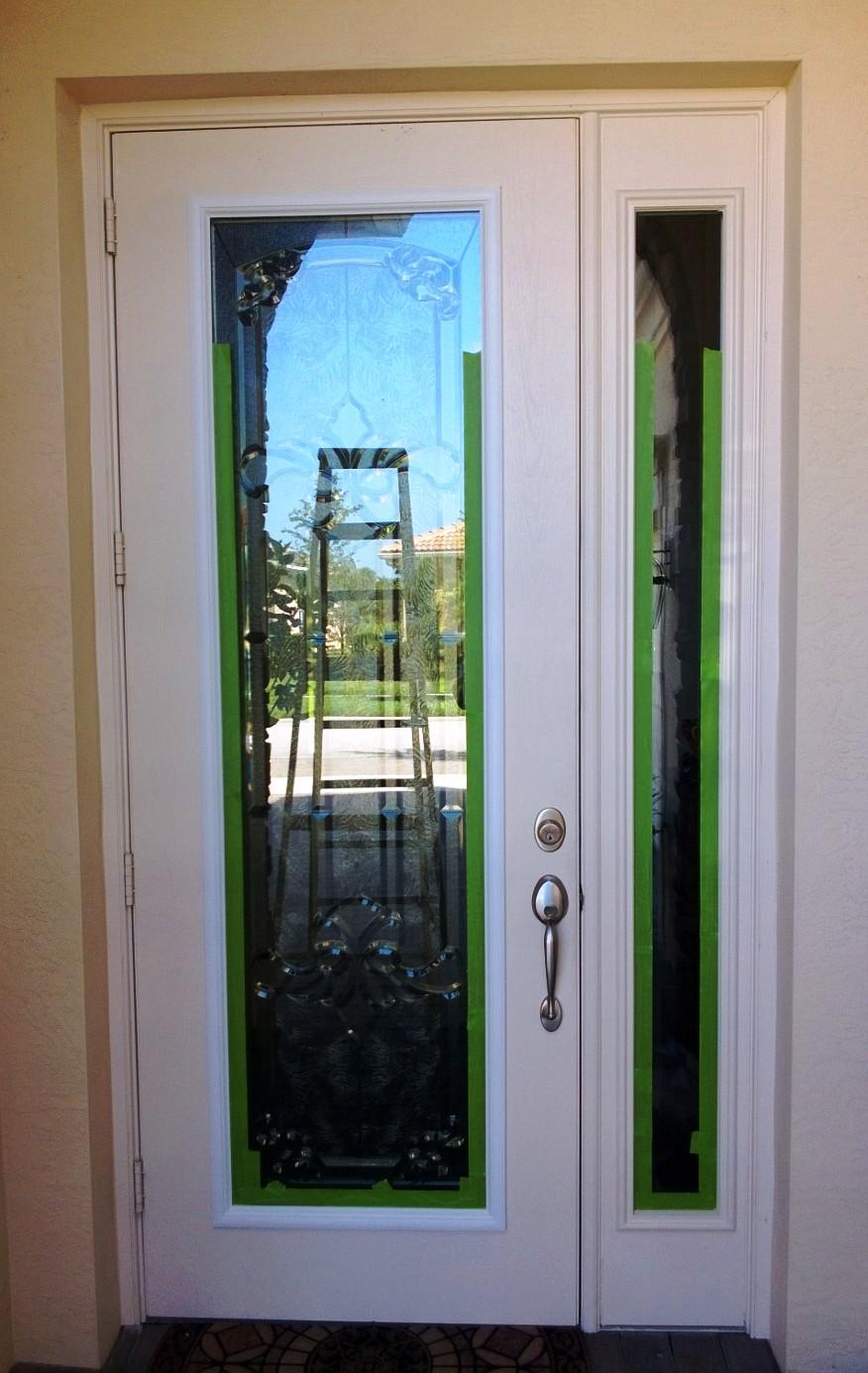 Gel Stain Fiberglass Door : Array of color inc gel stained door