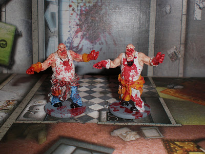 Zombicide Painted Zombies Fatty Fatties