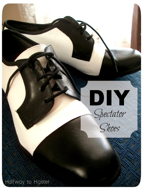 DIY Spectator Shoes
