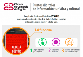 Puntos digitales de información turística y cultural