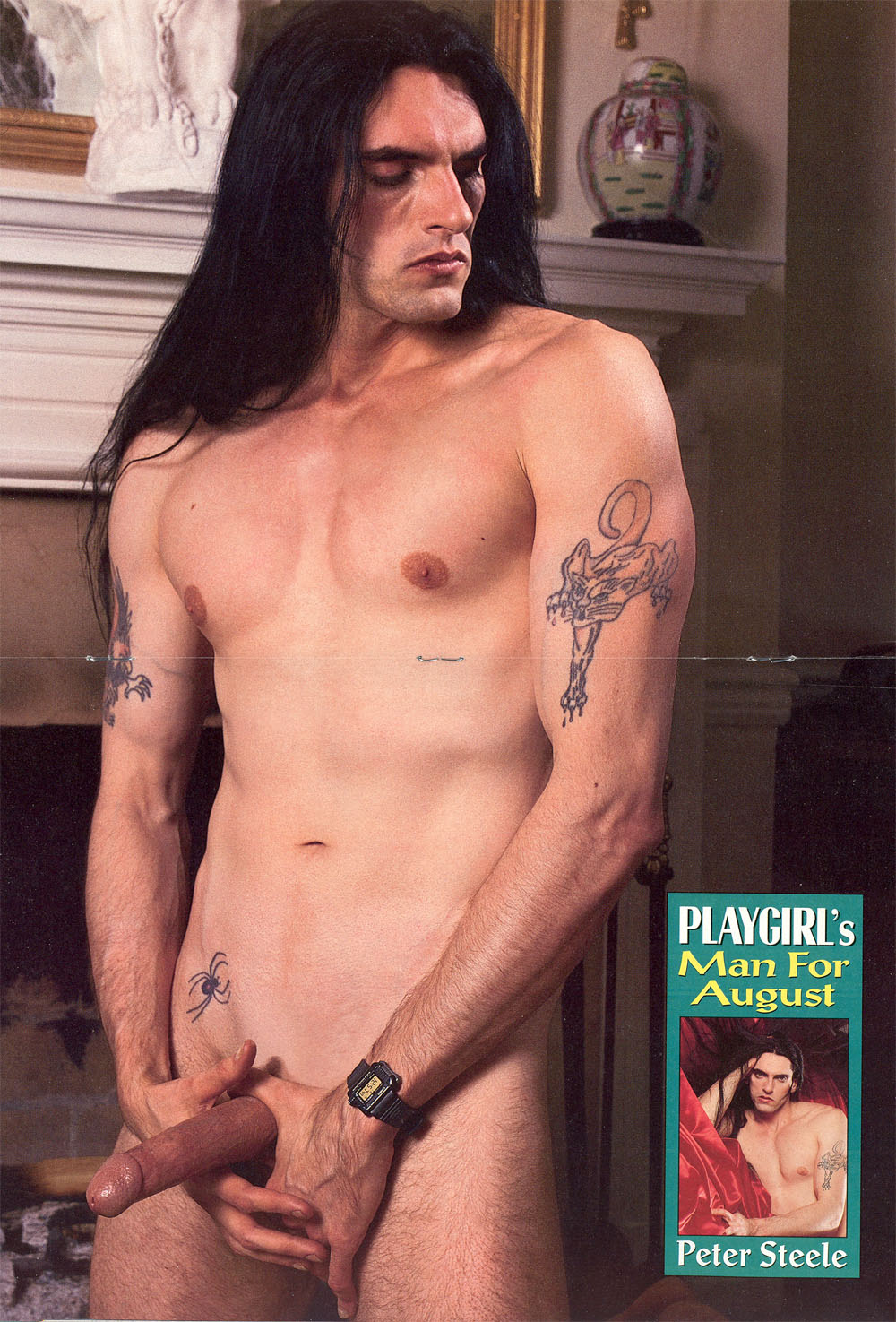 STARS MASCULINES NUES - Peter STEELE nu ! En photos