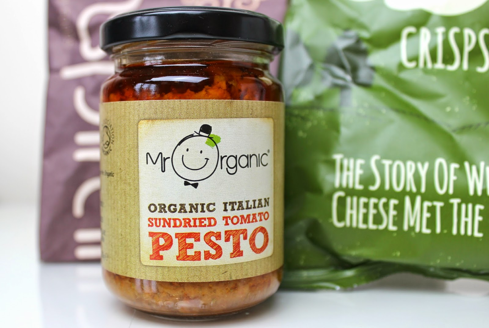 A picture of Mr Organic Organic Italian Sundried Tomato Pesto