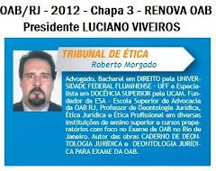 Eleições OAB/RJ - 26/11/2012
