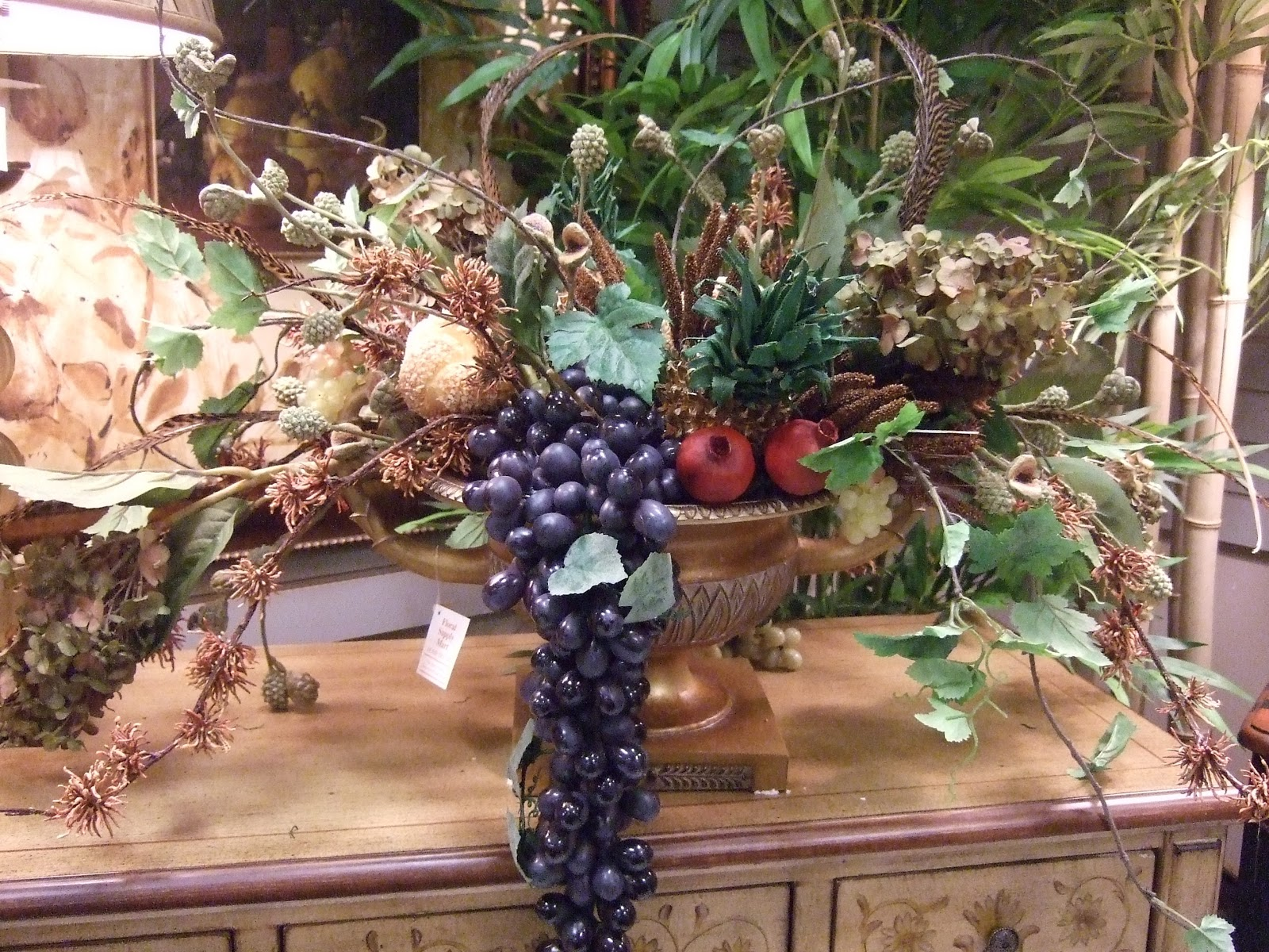 Ana Silk Flowers How to Use Fruit in Artificial Floral Arrangements
