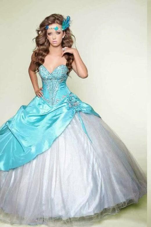 El vestido mas lindo del mundo de 15 años - Imagui