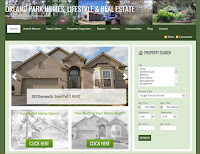 Orland Park homes and real estate website