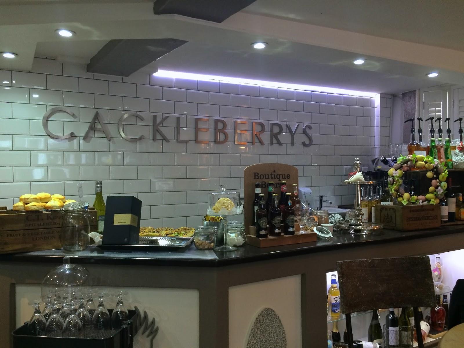 CACKLEBERRYS BRASSERIE & TEA HOUSE, FAREHAM