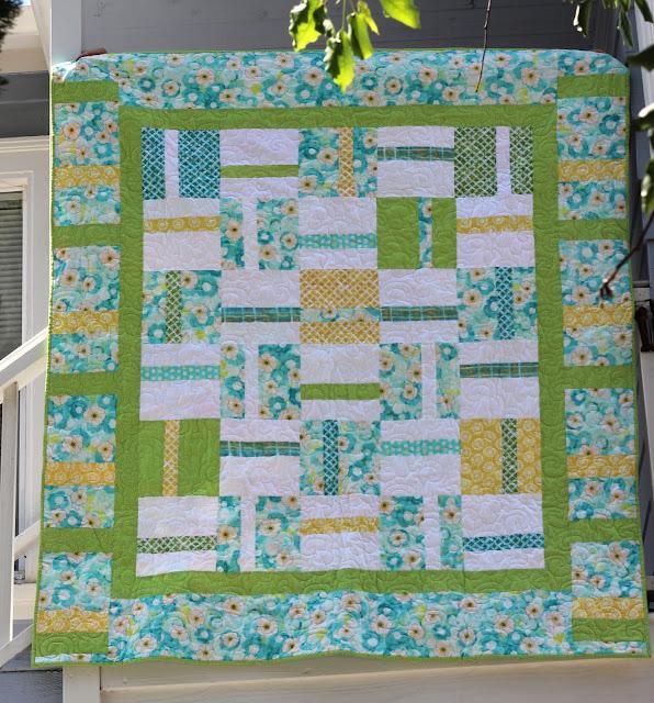 Sewn: California Wedding Quilt