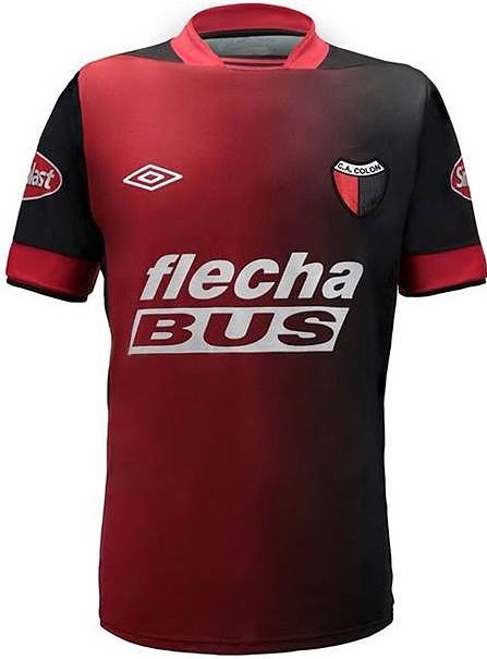 Colón é mais um time a aderir a moda degradê - Show de Camisas cc99d4e39c8cc