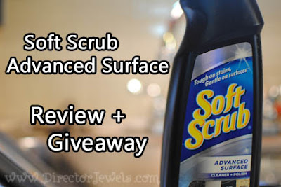 Soft Scrub Advanced Cleaner Stainless Steel All Purpose Granite Kitchen Bathroom