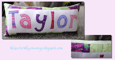 Taylor pillow collage