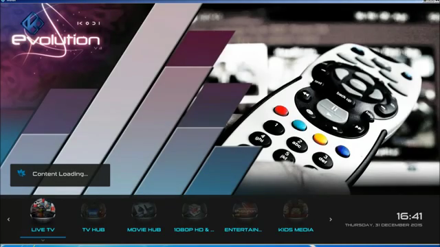 how to customize add ons and menu on kodi