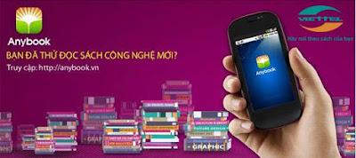 Đăng kí dịch vụ Anybook của Viettel