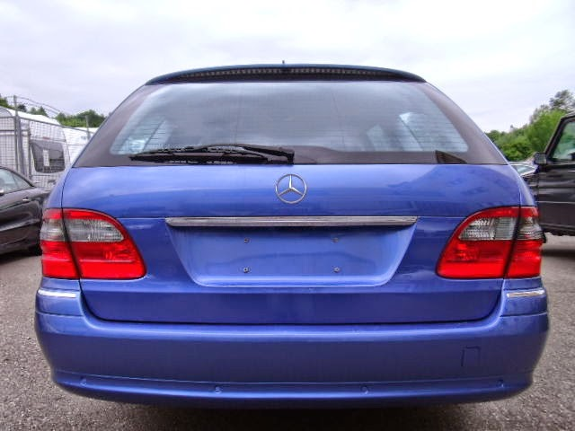 mercedes s211 blue designo