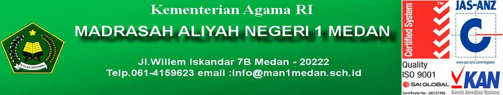 Madrasah    Aliyah   Negeri   1  Medan
