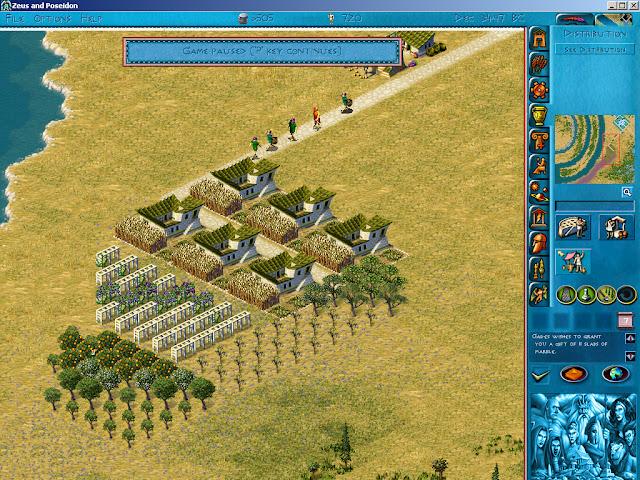 Poseidon: Master of Atlantis - Farming Area Screenshot