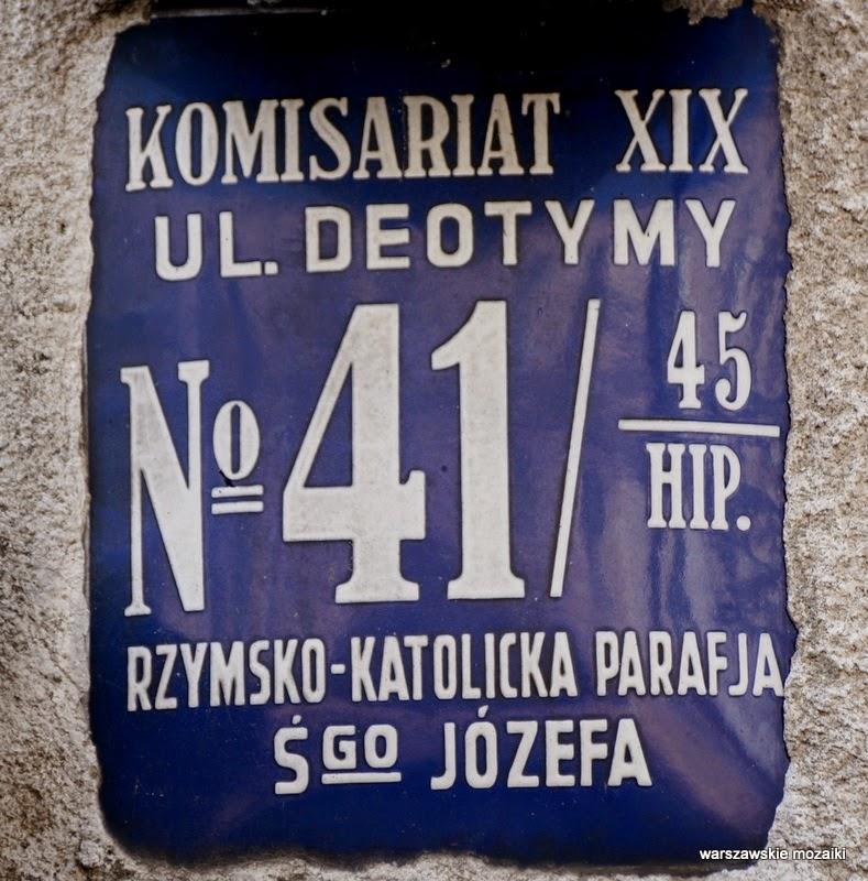 Warszawa Wola detale Deotymy osiedle
