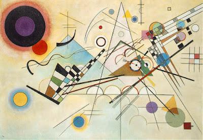 Composição VIII, 1923 - Vassily Kandinsky - Museu Guggenheim, Nova York