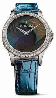 Montre Corum Feather Watch Plume de Paon