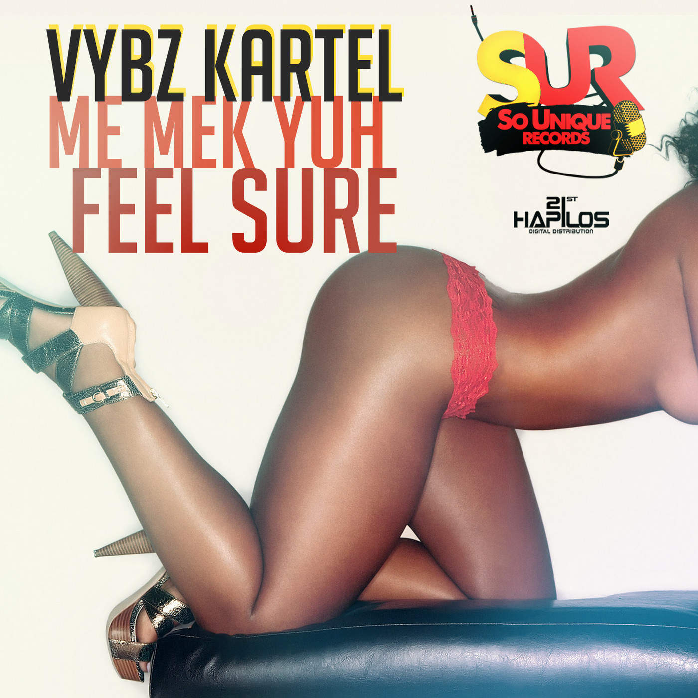 Vybz Kartel - Me Mek Yuh Feel Sure - Single Cover