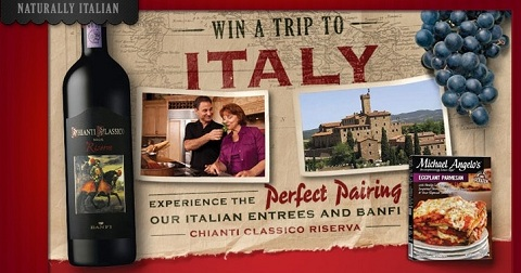 trip to italy sweepstakes