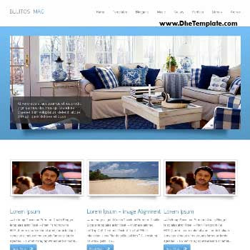 Bluitos Magazine blogger template. slideshow template blog. pagination for blogger template. magazine style blog template. template blog form wordpress theme