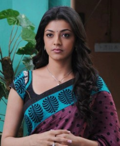 Kajal Agarwal Latest Hot Saree Stills