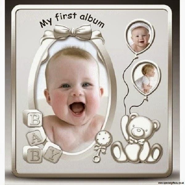 Album photo pour bébé fille ou garçon